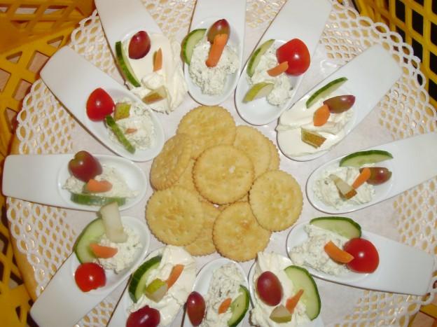 Frischkäse-Cracker